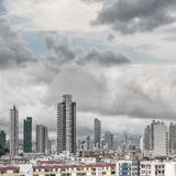 Typical Hong Kong apartment skyline Stock Photo