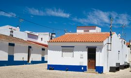 The typical house in Algarve, Royalty Free Stock Photos