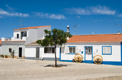 The typical house in Algarve, Royalty Free Stock Photography