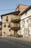 Typical house in the Basque Country Royalty Free Stock Images