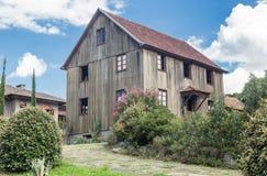 Typical House Bento Goncalves Brazil Stock Photo