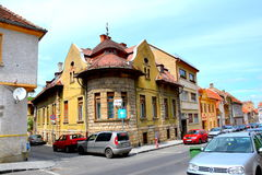 Typical house in Brasov Royalty Free Stock Photos