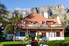 A typical house in Cape Town South Africa Stock Photo