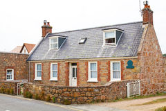 Typical house on the channel island of Jersey Stock Photography