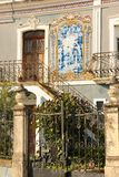 Typical house. Coimbra. Portugal Stock Photo