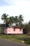 Typical house corn island nicaragua Stock Photos