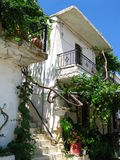 Typical house in Crete Stock Photography