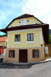 Typical house in the cvartal Schei of Brasov Royalty Free Stock Photos