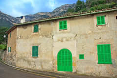 Typical House in Deia. Typical House of Majorca in the Village of Deya (Spain Royalty Free Stock Photos
