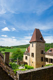 Typical house in French Dordogne Royalty Free Stock Photo