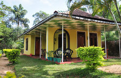 Typical house and garden in Sri Lanka Stock Photography