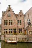 Typical house in Gent Royalty Free Stock Photos