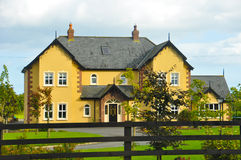 Typical house in Ireland Stock Images