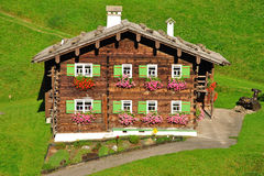 Typical House,Kleinwalsertal Stock Photo
