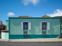 Typical house in La Palma Royalty Free Stock Image