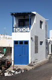 Typical house Lanzarote house Stock Image