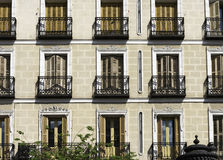 Typical house in Madrid Royalty Free Stock Photo