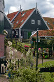Typical house in Marken, the Netherlands Royalty Free Stock Photo