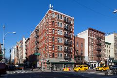 Typical House in New York City royalty free stock images