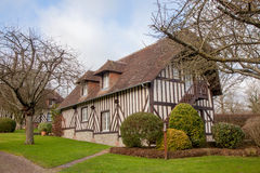 Typical house in the Normandy, France Stock Image