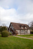 Typical house in the Normandy, France Stock Photo