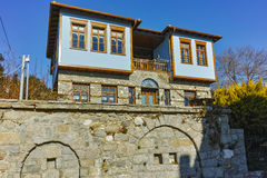 Typical house from ottoman period in Xanthi, East Macedonia and Thrace Stock Photo