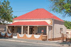 Typical house in Oudtshoorn Royalty Free Stock Photos