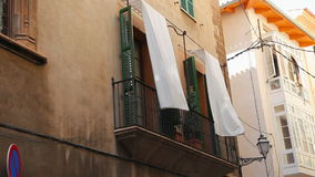 Typical house in Palma de Mallorca, Spain stock video