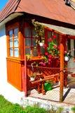 Typical house in Rosia Montana, Apuseni Mountains, Transylvania Stock Photos