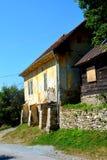 Typical house in Rosia Montana, Apuseni Mountains, Transylvania Stock Photography