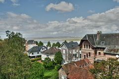 Typical house in Somme, France Royalty Free Stock Images