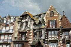 Typical house in Somme, France Stock Photo