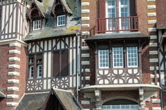 Typical house in Somme, France Royalty Free Stock Photo