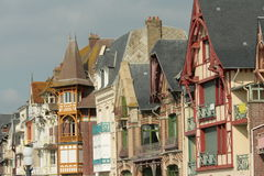 Typical house in Somme, France Stock Image
