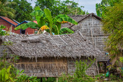 Typical House on the Tonle sap lake,Cambodia. Royalty Free Stock Photo