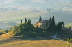 Podere in fall Stock Images