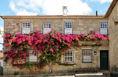 Typical house in Vila Nova de Cerveira Stock Images