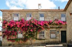 Typical house in Vila Nova de Cerveira Stock Images