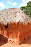 A typical house in the village of African Pomerini - Tanzania - Royalty Free Stock Image