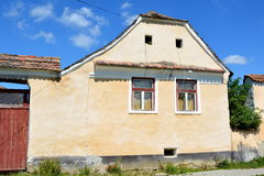Typical house in the village Crit, Transylvania. Royalty Free Stock Photo
