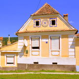 Typical house in the village Crit, Transylvania Royalty Free Stock Images