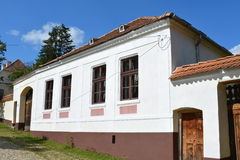 Typical  house in the village Viscri, Transylvania. Royalty Free Stock Photography