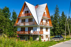 Zakopane house Royalty Free Stock Images