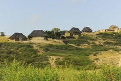Typical Houses in Africa. Angola Stock Photography