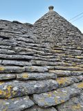 Typical houses of Alberobello, in Puglia, Italy. These ancient houses are called Trulli. Typical houses alberobello puglia italy ancient called trulli stock photo