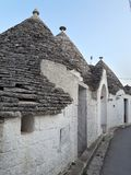 Typical houses of Alberobello, in Puglia, Italy. These ancient houses are called Trulli. Typical houses alberobello puglia italy ancient called trulli stock photography
