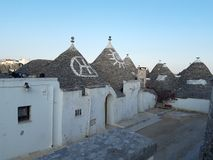 Typical houses of Alberobello, in Puglia, Italy. These ancient houses are called Trulli. Typical houses alberobello puglia italy ancient called trulli stock image