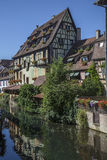 Typical houses in Alsace Royalty Free Stock Photos