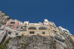 Typical houses from Amalfi coast, Italy Stock Image