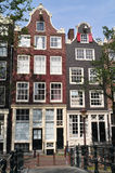 Typical houses in Amsterdam Royalty Free Stock Image